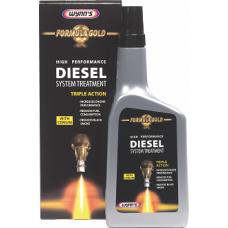 Комплексна добавка в паливний бак дизельного двигуна